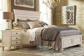 Parisian Bedroom Furniture by Master Bedroom White Marsilona Queen Panel Bed View 3 Ashley