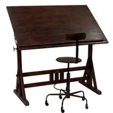 Commercial Drafting Table Noyer Stand Up Sit Down Station Bureau Et Par Camposironworks