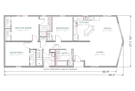 alternate basement floor plan 1st level 3 bedroom house with