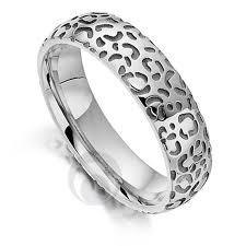 platinum rings wedding images Big cat cheetah platinum wedding ring wedding dress from the jpg