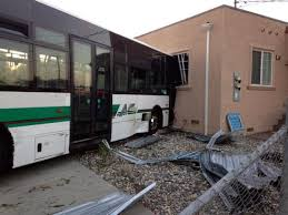 richmond stolen car strikes ac transit hits house nine