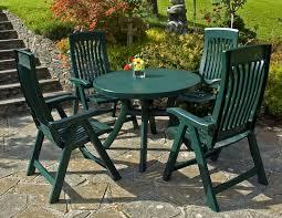 bench green plastic garden bench table plastic garden furniture