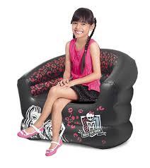 High Sitting Chair Amazon Com Monster High Monster High Inflatable Tween Sofa Chair