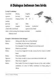 english teaching worksheets birds