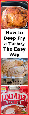 fry your turkey the easy way an alli event