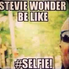 Stevie Meme - stevie wonder be like