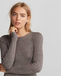 fitted sweater marled fitted crew neck sweater want to wear crew