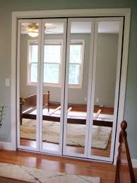 Bypass Doors Closet Bathroom Interesting Sliding Closet Doors Lowes With Fabulous