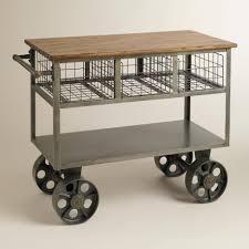 Kitchen Islands Wheels Rustic Unique Movable Kitchen Islands With Storage And Wheels