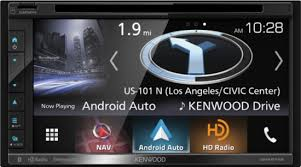 android in dash kenwood 6 8 android auto apple carplay built in navigation