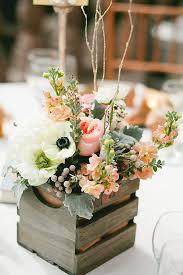 29 chic box wedding centerpieces that inspire weddingomania