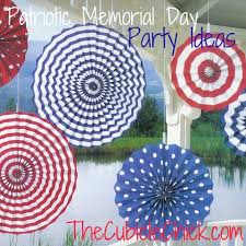 Memorial Day Decor Memorial Day Fab Help Usher In Summer With These Patriotic Party