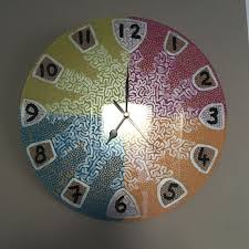 clocks made to order hand painted make wonderful unique presents