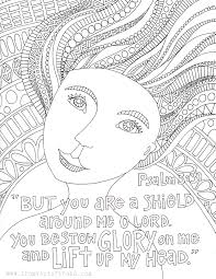 coloring page u2013 psalm 3 3 u2013 from victory road