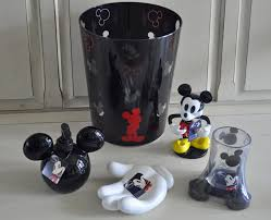 mickey mouse bathroom accessories can add a fun element to the
