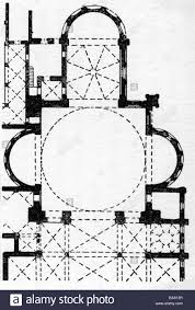 Church Floor Plans Free Architecture Floor Plans Santa Maria Delle Grazie Built 1466