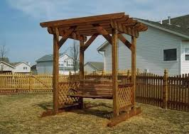 arbor swing plans free trellis arbor swing building plans only at free garden arbor swing