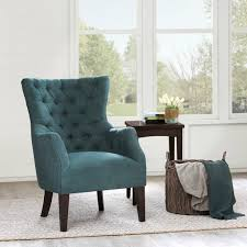 Tufted Accent Chair Anabel Button Tufted Accent Chair Blue American Home Furniture
