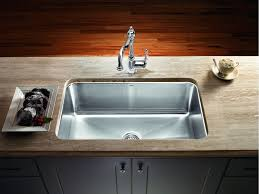 Stainless Kitchen Sinks Undermount Magnum Large Single Bowl Stainless Steel Undermount