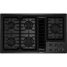 36 Induction Cooktop With Downdraft Jgd3536bb Jenn Air 36