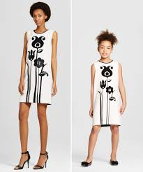 victoria beckham x target has chic mommy and me looks for mother u0027s