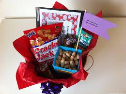 Baseball Gift Basket Party On A Penny Baseball Coach Thank You Gift