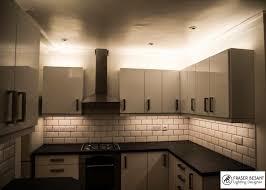 Kitchen Unit Lighting 2700k Led Top And Bottom Of Kitchen Units