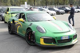 911 Flag Photo Porsche 911 Gt3 Rs Pdk Wrap Shows Jamaican Flag Colors A