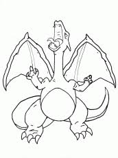 pokemon coloring pages charizard quality coloring pages