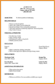 Good Resume Outline Resume Outline Free Resume Template And Professional Resume