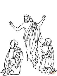 resurrection coloring free printable coloring pages