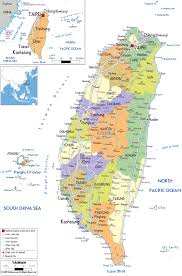 Chinese World Map by Maps Of Taiwan Detailed Map Of Taiwan In English Tourist Map