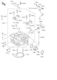 2007 kawasaki klr650 kl650a cylinder head parts best oem