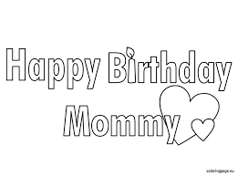 amazing happy birthday mom coloring pages 21 remodel free