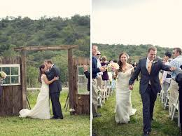 wedding backdrop rustic real wedding aimee colin s rustic ranch wedding green wedding
