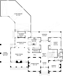 House Plans With Three Car Garage Modern House Plans Webshoz Com
