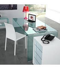 bureau verre blanc bureau en verre blanc bureau dangle http wwwalterego design
