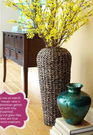 buy ceramic fashion modern brief large floor vase decoration