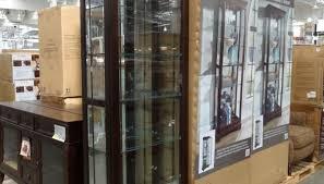 cabinet amazing pulaski curio cabinet mirrored glass curio