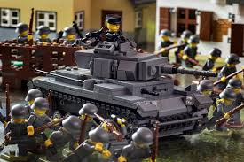 lego army tank panzer iii german medium tank brickmania toys