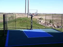 smaller backyard courts photos sportgames