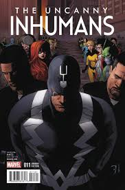 Uncanny Uncanny Inhumans 11 Civil War Re Enactment Variant