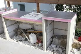 sommerküche selber bauen außenküchenpläne möbelideen