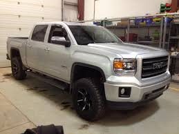 lifted gmc 1500 post your 2014 wheel tire set up 2014 2015 2016 2017