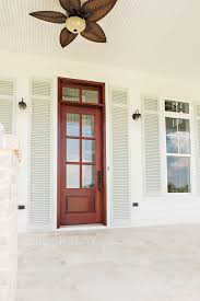sw sea salt on shutters southern living house plan front porch