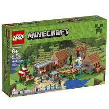 minecraft fire truck lego minecraft the village 21128 walmart canada