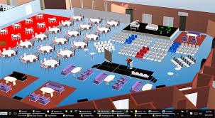 event services cadplanners floorplans 3d table plans guest