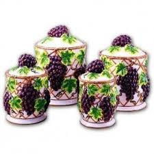 ceramic canisters sets for the kitchen foter