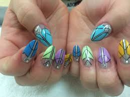 step by step crazy nails youtube