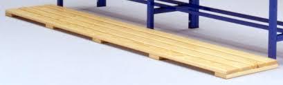pedana legno pedana poggiapiedi in legno mt 2